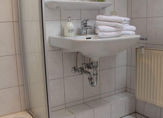 Badezimmer der Wohung