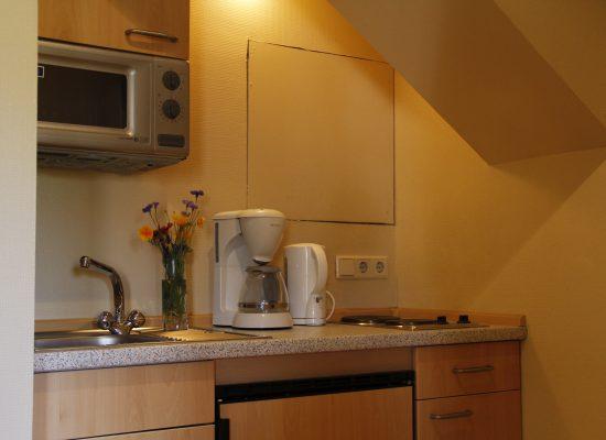 Küchenbereich mit Kitchenette