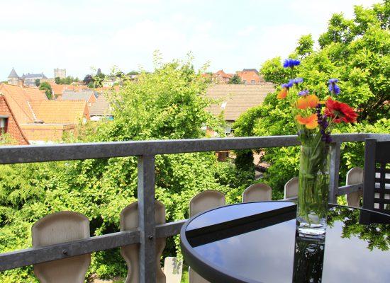 Balkone an einigen Zimmern